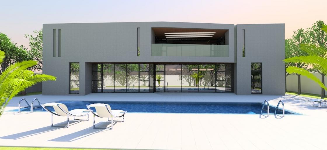 Contemporary home 1015