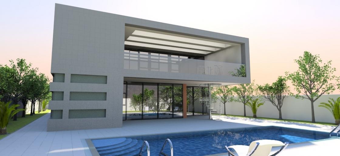Contemporary home 1016