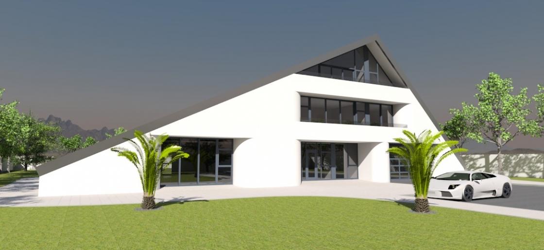 Contemporary home 2002
