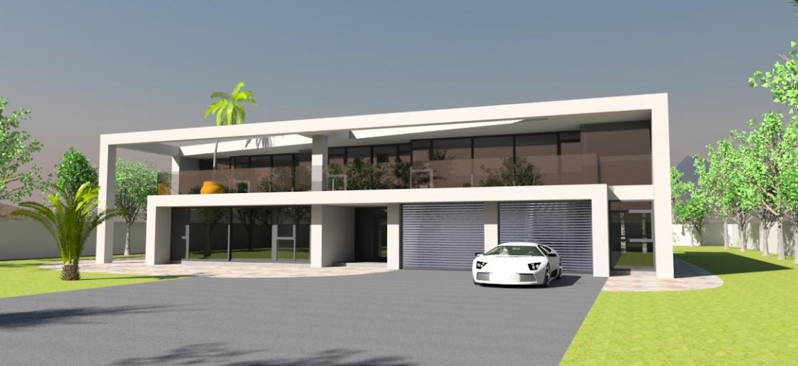 House plan 2003 bespoke homes for Medium modern house