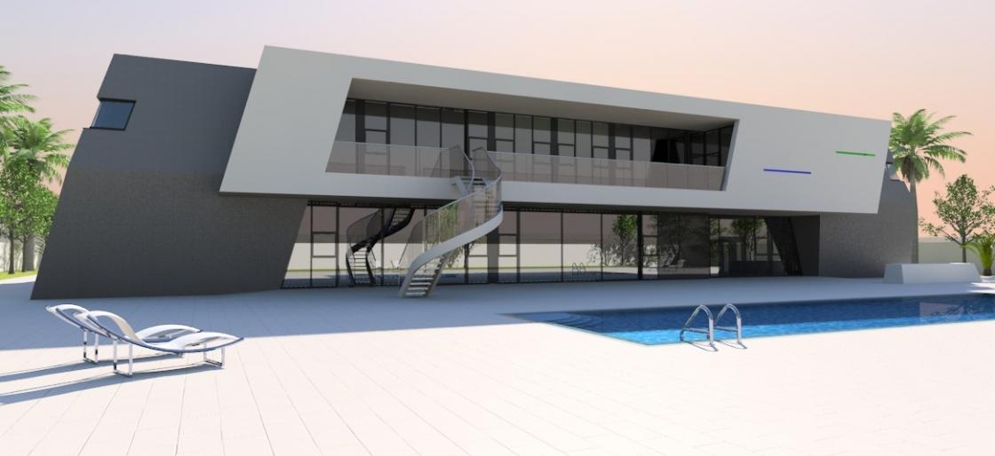 Contemporary home 3020